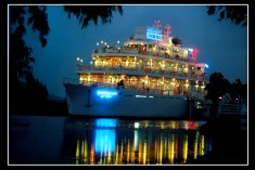 Ba Loc floating restaurant and conference ship